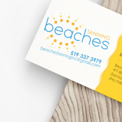 beaches-business-card