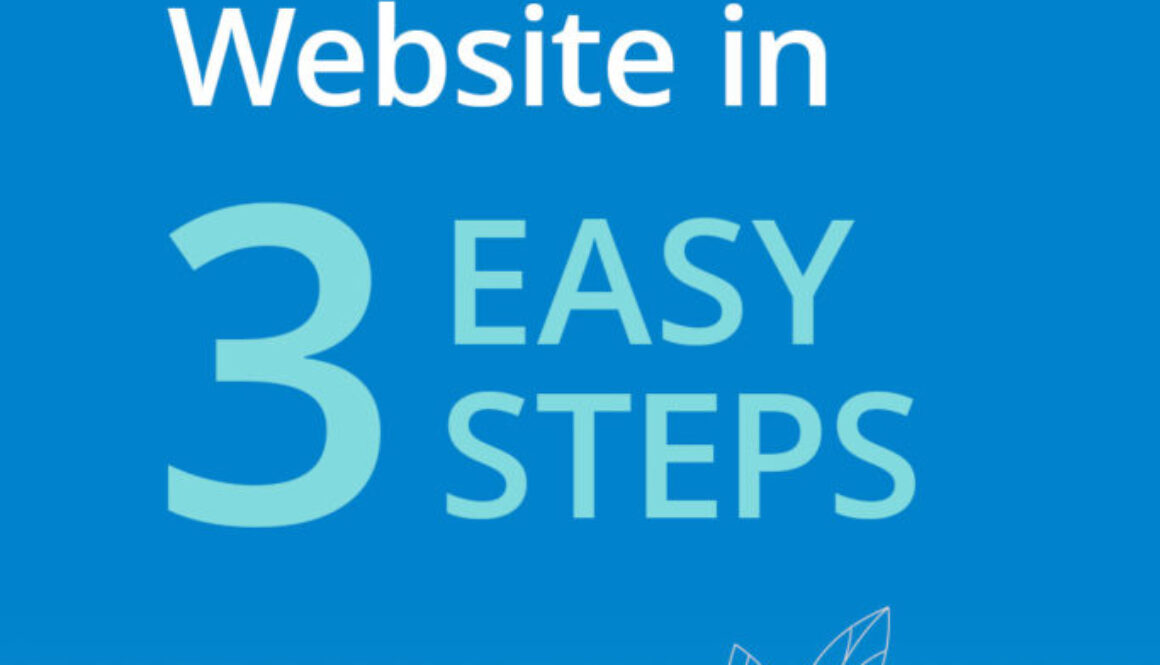 How to setup a website in 3 easy steps