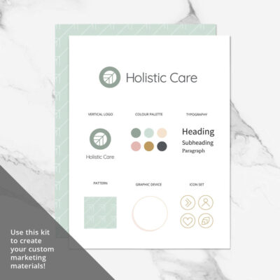 Holistic Care Visual Identity