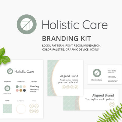 Holistic Care Branding Kit