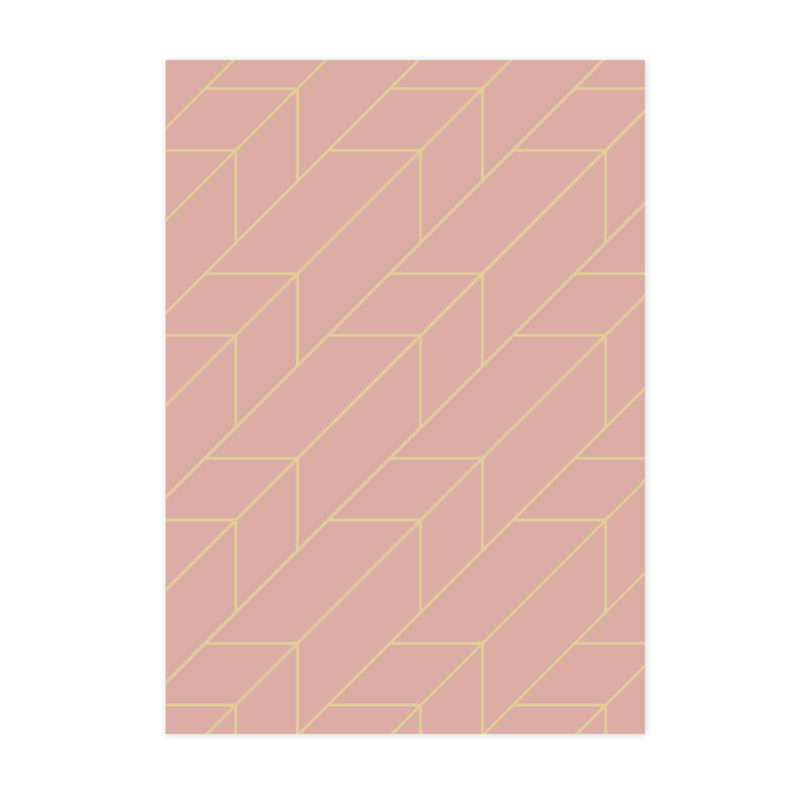 Rose and Gold Pattern for Branding