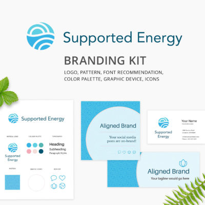 Supported Energy Branding Kit