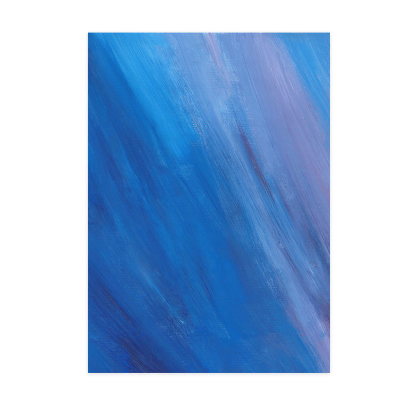 Blue and Purple acrylic paint background element for branding