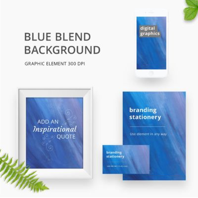 Blue Blend Background