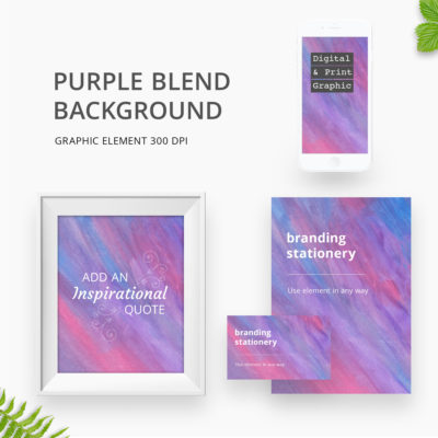 Purple Blend Background